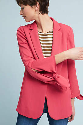 Cartonnier Tied-Sleeve Blazer