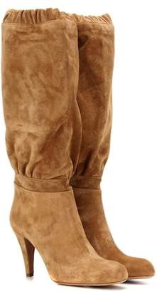 Chloé Lena suede knee-high boots