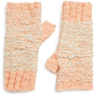 Free People Keep Cozy Knit Fingerless Gloves
