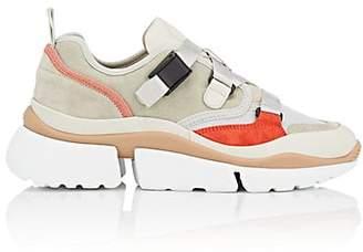 Chloé Women's Crisscross-Strap Sneakers