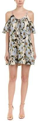 J.o.a. Floral Shift Dress