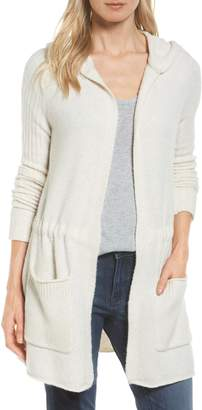 Caslon Hooded Cardigan