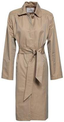 Maje Gamby Cotton-Blend Gabardine Trench Coat