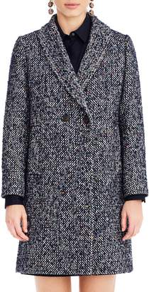 J.Crew Daphne Tweed Topcoat