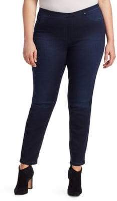 Marina Rinaldi Marina Rinaldi, Plus Size Marina Rinaldi, Plus Size Women's Marina Sport Ilenia Skinny Jeans - Dark Navy - Size 14W