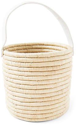 Jill Mini Bucket Bag - Natural/White - Indego Africa