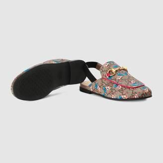Gucci Children's Princetown GG fawns slipper