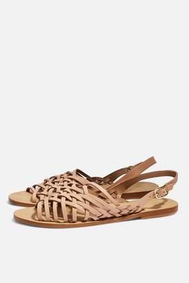 Topshop HOXFORD Woven Sandals