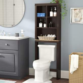 "Andover Mills Milledgeville 23.3"" W x 68.58"" H Over the Toilet Storage"
