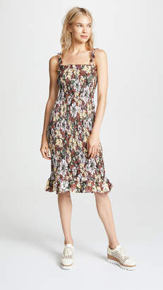 Faithfull The Brand Maya Midi Dress