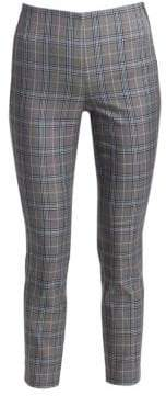 Rag & Bone Rag& Bone Rag& Bone Women's Simone Plaid Trousers - Grey Multi - Size 0