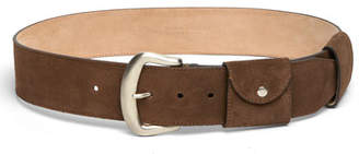 Marc Jacobs Christy Suede Utility Belt