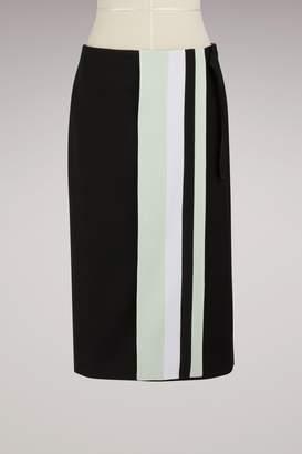 Victoria Beckham Victoria Wool and silk mid-length skirt