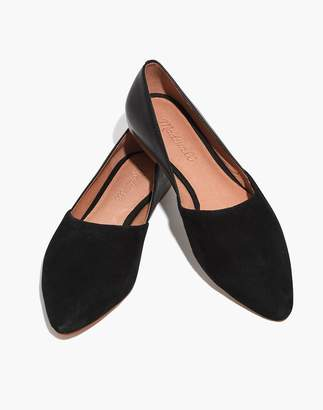 Madewell The Lizbeth Flat in Leather and Suede