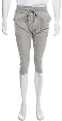 October's Very Own Woven Cropped Joggers