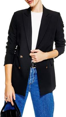 Topshop Double Breasted Jacket