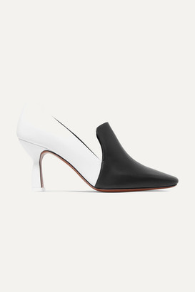 Neous - Aerid Two-tone Leather Pumps - White