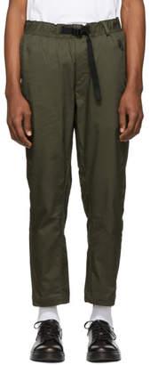 Nike Khaki Woven NRG Trousers