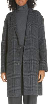 Polo Ralph Lauren Plaid Wool Blend Coat