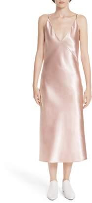 Vince V-neck Bias Cut Dress