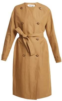 Acne Studios Angelica Trench Coat - Womens - Beige