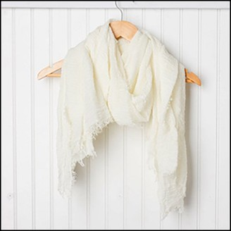 Tickled Pink Classic Everyday Solid Scarf, 38 x 70, 20% Cotton; 80% Polyester, Multiple Colors