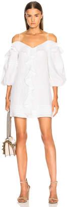 Alexis Dayanne Dress in Off White | FWRD