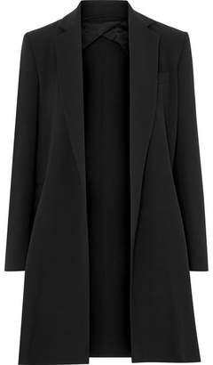 Max Mara Stretch-wool Crepe Blazer - Black
