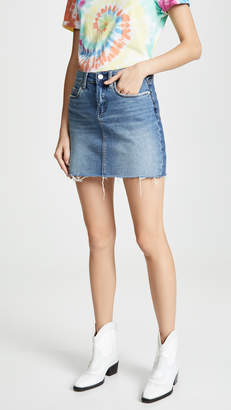 Blank Two Faced Denim Skirt