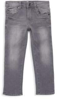 7 For All Mankind Little Boy's Slim-Fit Slimmy Dispursed Jeans