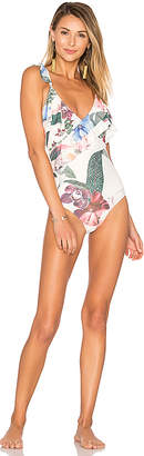 Lovers + Friends Tropical Oasis One Piece