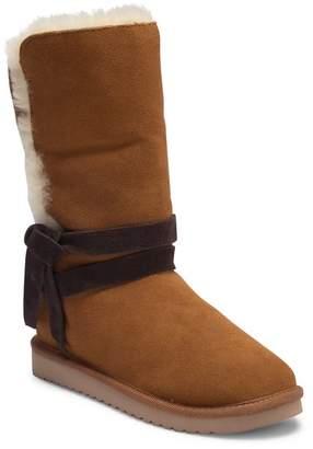 Koolaburra BY UGG Rozalia Tall Genuine Shearling & Faux Fur Lined Boot