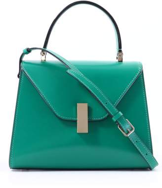 Valextra Iside Mini Emerald Green
