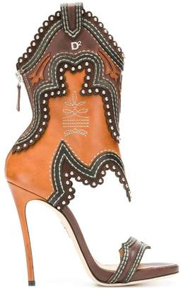 DSQUARED2 Cowboy boot sandals