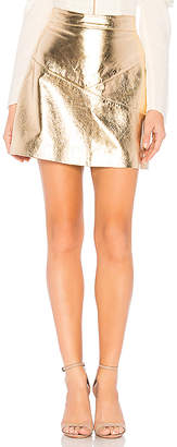 NBD Maanasa Leather Skirt