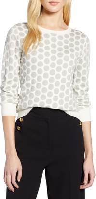 Halogen x Atlantic-Pacific Shimmer Dot Sweater