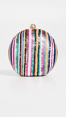 Santi Sequined Clutch