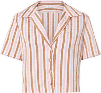 Frame Mini Stripe Shirt
