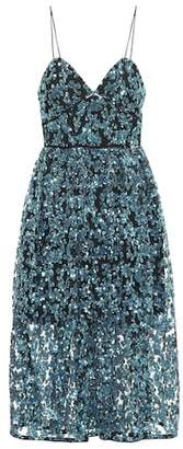 Self-Portrait Sequined dress