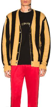 Stussy Vertical Stripe Cardigan