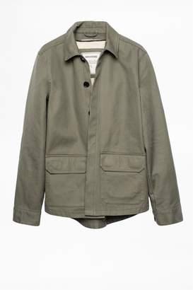 Zadig & Voltaire Blake Army Coat