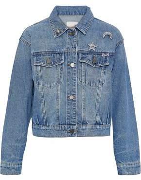 Joie Embellished Denim Jacket