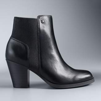Vera Wang Simply Vera Chickadee Women's High Heel Ankle Boots