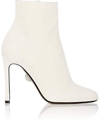 SAMUELE FAILLI Women's Linda Suede Ankle Boots - White