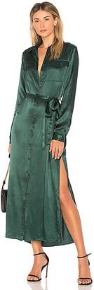 L'Academie The Long Sleeve Shirt Dress
