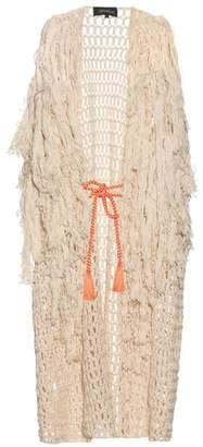 Tabula Rasa - Idris Fringed Knit Cover Up - Womens - Multi