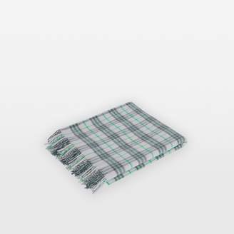 Burberry Childrens Check Cashmere Baby Blanket