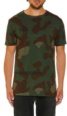 Off-White Men's Camo-Jersey Slim T-Shirt