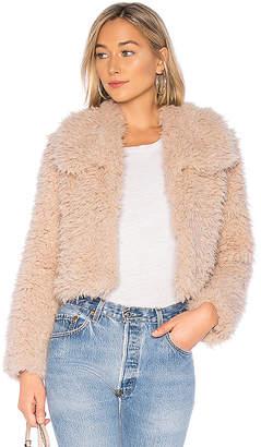Bardot Faux Fur Jacket