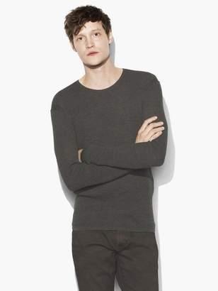John Varvatos Thermal Crewneck Sweater